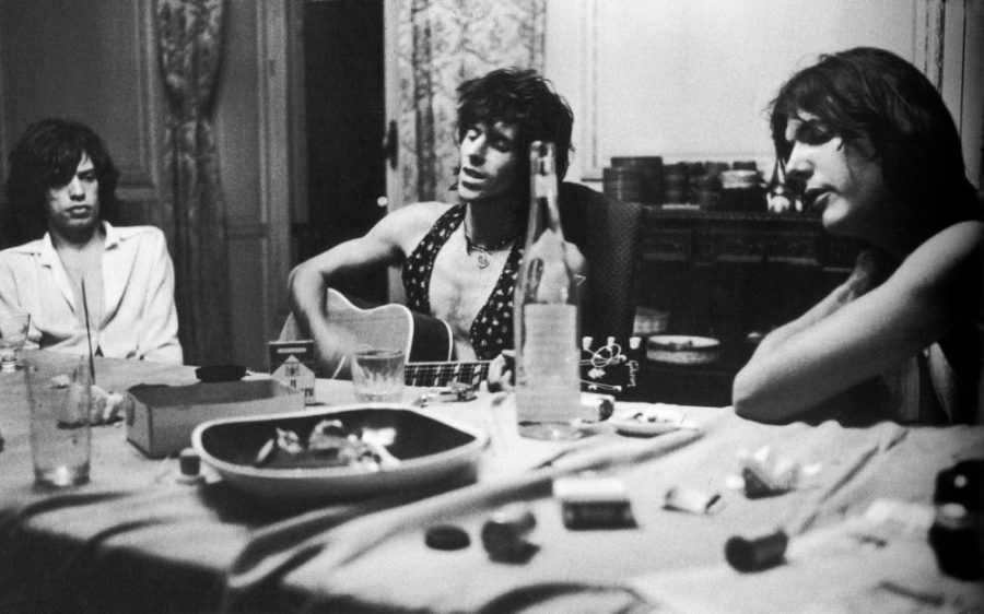 Keith Richards Mick Jagger - Gianni Pirozzi Des cailloux dans l'objectif