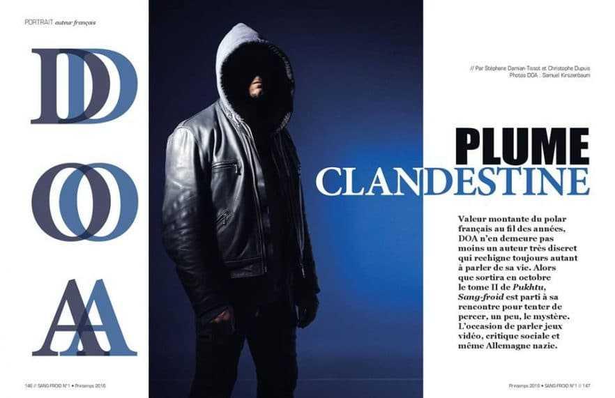 Revue Sang-froid - Dossier Polar - DOA